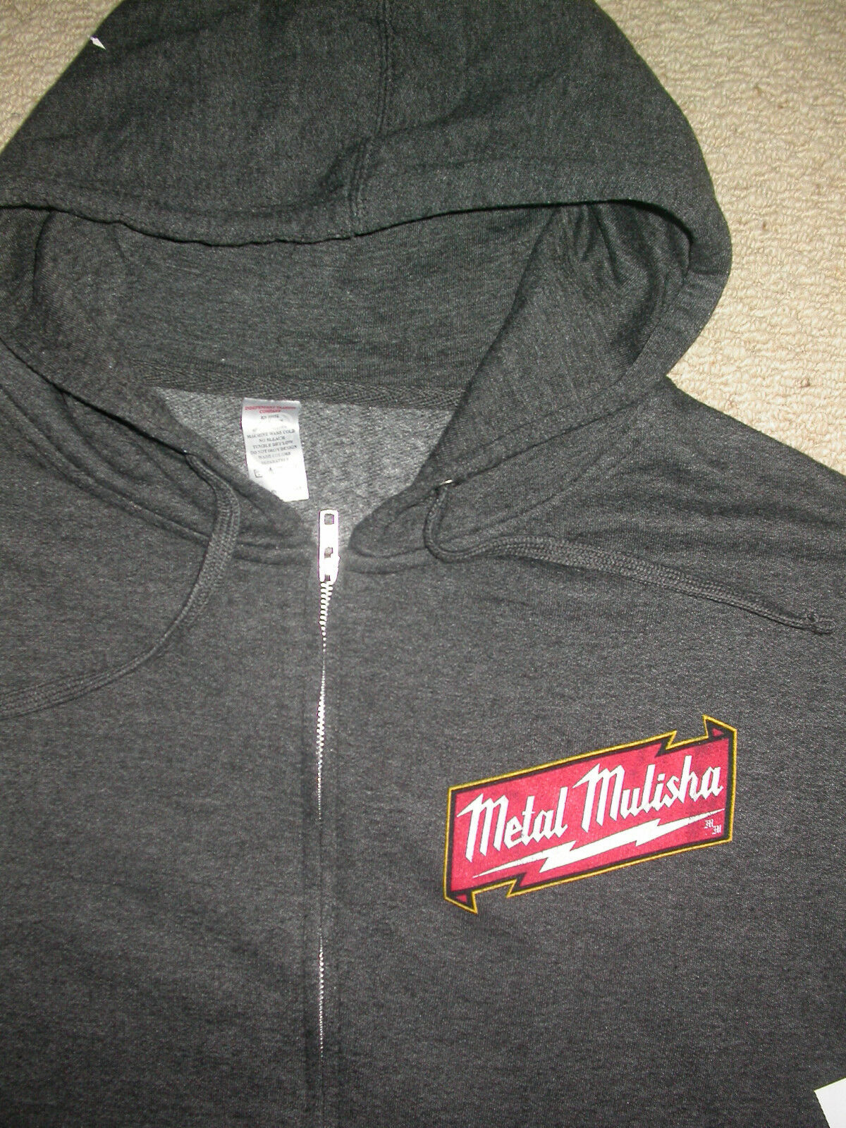 METAL MULISHA ZIP UP  HOODED SWEATSHIRT LARGE L . DIAZ UFC MMA BJJ BOXING KSW NEW  all in high quality and low price