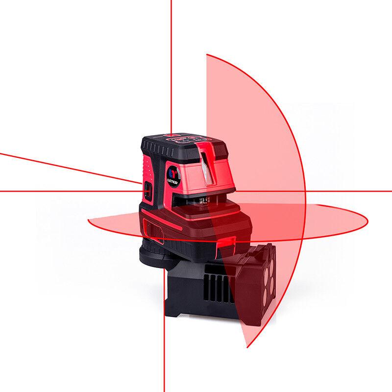 LETER  laser spot  Self Levelling Cross Line laser level   5dots,1V,1H