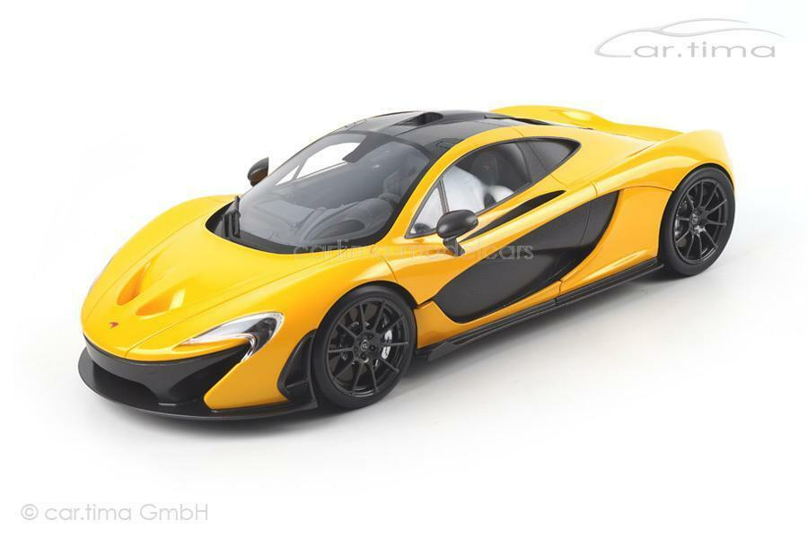 McLaren p1-Volcano giallo - 1 of 300-TSM-MODEL - 1:12 - tsm141206