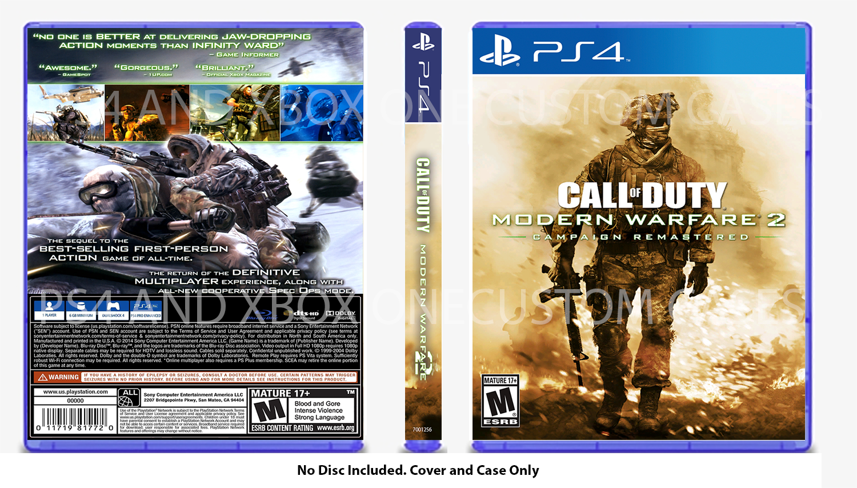 Call Of Duty Modern Warfare 2 Playstation 3 2009 For Sale