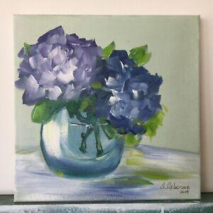 Original-Art-Hydrangeas-Bouquet-Original-Acrylic-painting-on-canvas-10-x10-x0-8