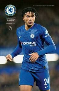 Chelsea-v-Tottenham-Hotspur-Spurs-Programme-LINE-UP-22-2-20-Mourinho-return