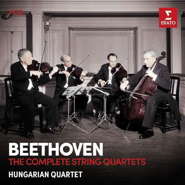 Hungarian Quartet - Beethoven: The Complete Cuerda Nuevo CD