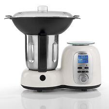 Kochwerk Thermo-Multikocher Deluxe 10in1 1500 W in Weiß/Schwarz