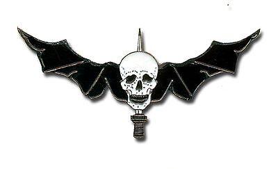Metal Lebanese Special Forces Wings - Skull - L229