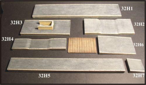 Rampe (2 pezzi 3X3) kit (H0)