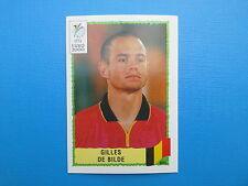 PANINI EURO 2000 N.114 DE BILDE BELGIQUE