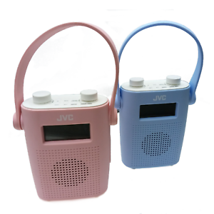 JVC RA-D11-P Portable DAB/FM Bathroom Clock Radio | eBay
