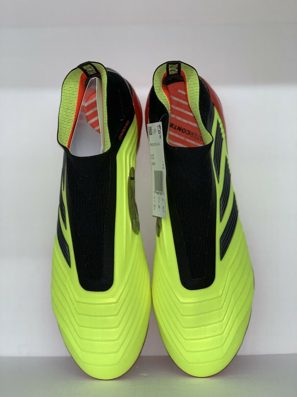 Adidas Preator 18+ FG Men's Soccer Cleats Football shoes DB2010 1805 Size 11.5