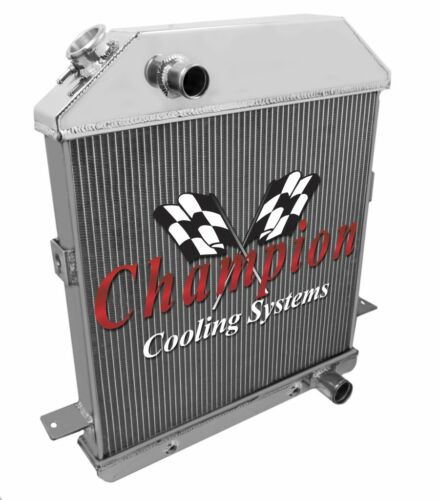 1939 1940 1941 Ford Car Chevy Configuration 3 Row Champion ADV Aluminum Radiator