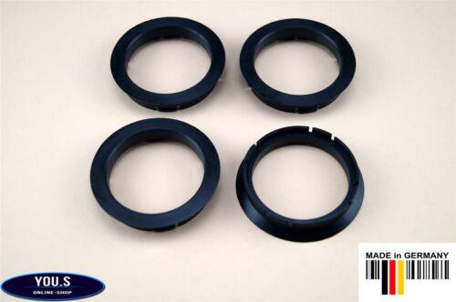 4 x anillas de centrado 63,3-54,1 mm-Alutec Anzio rial toyota Mazda hyundai-z06
