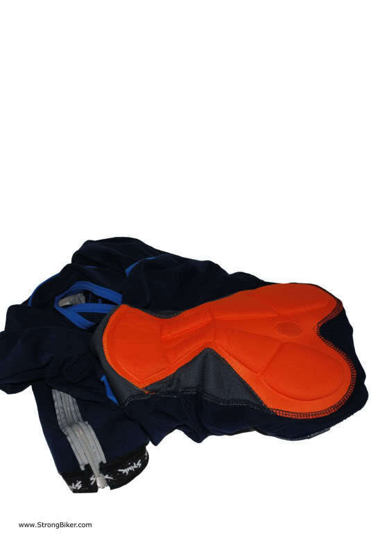 New Herren genuine Spiuk Spiuk Spiuk Team cycling Bib Tight XL ankle zipper multi density pad 16a7e1