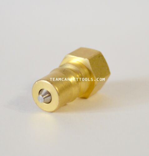 """Male Quick Connect Disconnect 1//4/"""" Carpet Cleaning Wand Truckmount Valve QD"""