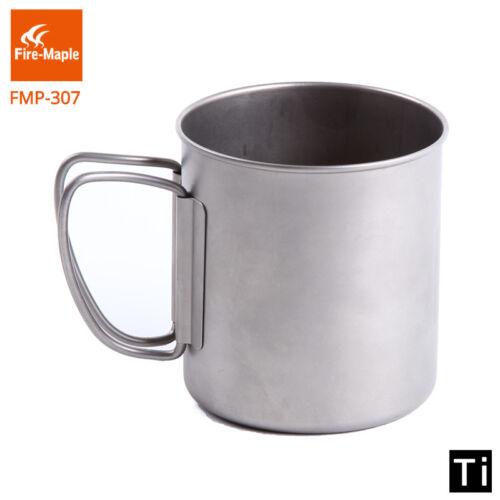 Fire-Maple Titanium Pot Mug Cup Ultralight Camping Travel Titanium Cup 330ml