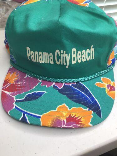 Vintage 80's 90's Panama City Beach Tropical Flowe