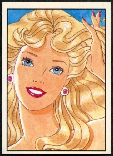 C858 Barbie #57 Mattel 1989 Panini Sticker