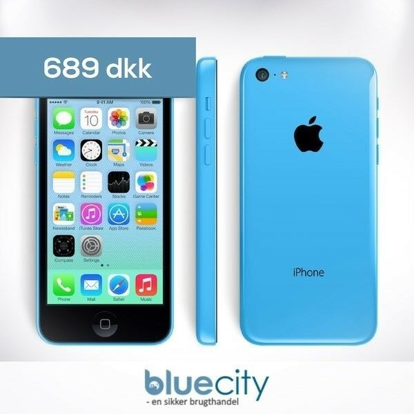 iPhone 5C, GB 16, blå