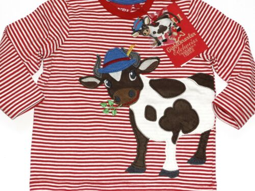 Bondi Shirt Baby Jungen Tracht Gipfelkraxler Bauernhof KUH Gr 68-104 NeU