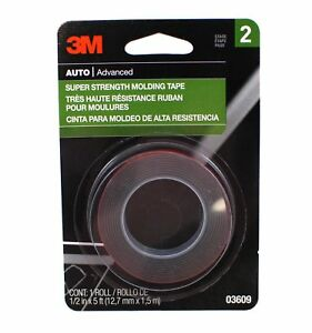 3M-03609-Super-Strength-Molding-Tape-1-2-Inch