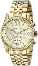 Orologio Michael Kors da donna Collezione Lexington MK5556 Acciaio dorato