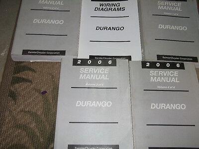 durango wiring diagram 2006 dodge durango service repair shop manual set w electrical  2006 dodge durango service repair shop