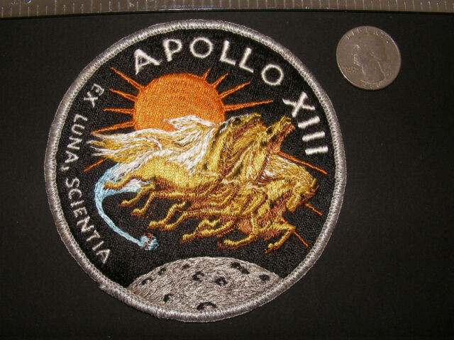 Vintage Original Apollo 13 (XIII) Embroidered Crew Patch (as worn by crew)