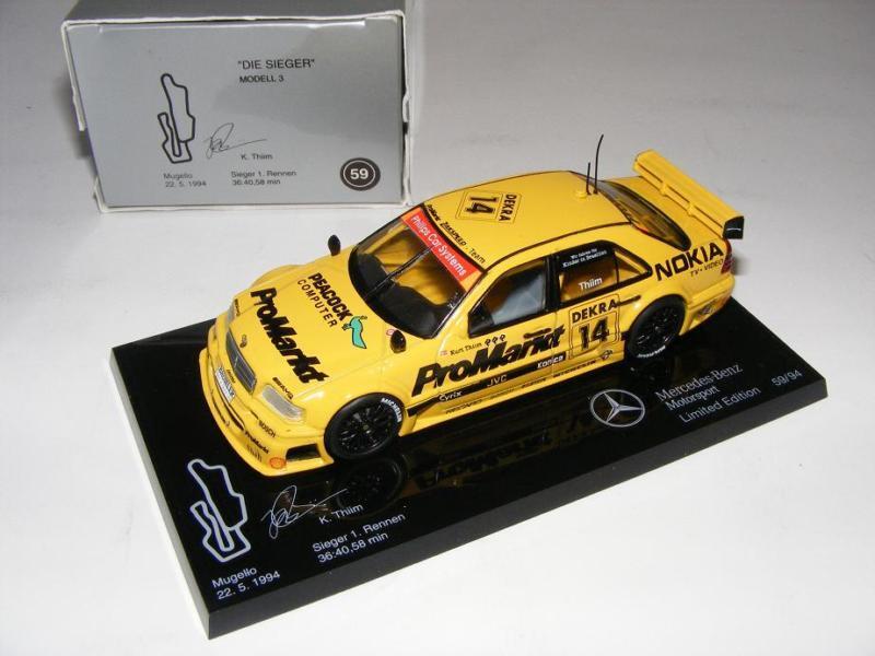 1 43 Minichamps AMG Mercedes C DTM 94  Die Sieger   3