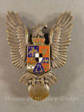 79677: Rumänien, RUMÄNISCHES FLUGZEUGFÜHRERABZEICHEN mit emailliertem Zentrum