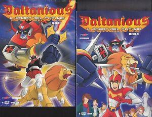 12-Dvd-x-2-Box-Cofanetto-DALTANIOUS-IL-ROBOT-DEL-FUTURO-serie-completa-nuovo-ita