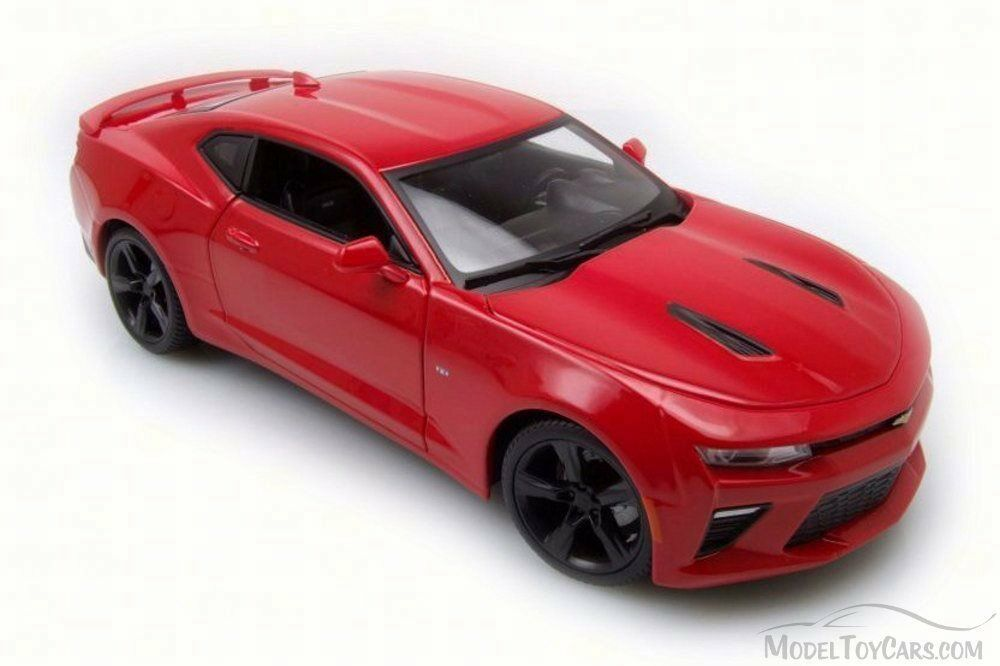 2016 Chevy Camaro SS, Red - - - Maisto 31689R - 1 18 Scale Diecast Model Toy Car 483519