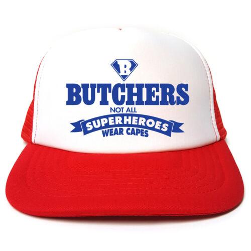 Bouchers-pas tous Superheroes Wear Caps Hat-Drôle TRUCKER CAP Casquette Boucher