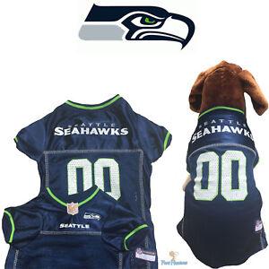 8db7d9490 NFL Pet Fan Gear SEATTLE SEAHAWKS Dog Jersey for Dog Dogs XS-2XL XXL ...