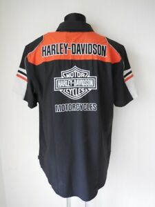 Harley-Davidson-Performance-Colorblock-Coolcore-Hemd-Shirt-kurzarm-99189-19VM
