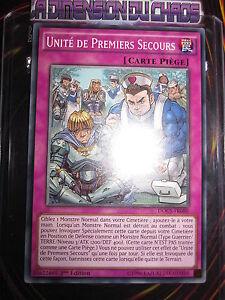 YU-GI-OH-COM-SHORT-PRINT-UNITE-DE-PREMIERS-SECOURS-DOCS-FR080-MINT-NEUF