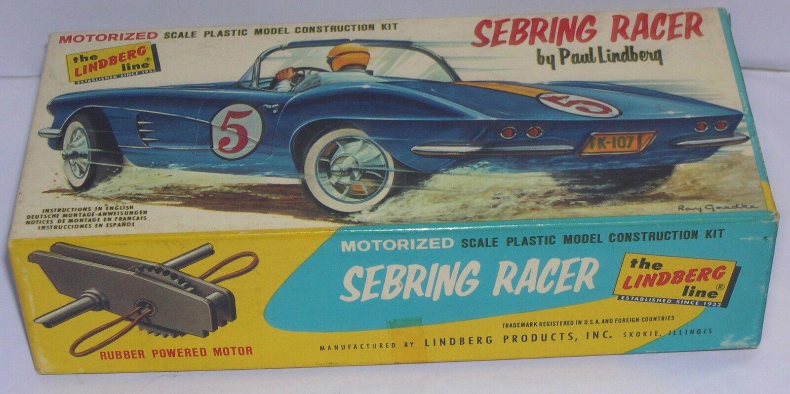 Une nouvelle génération, nouvelle sélection! FN LINDBERG LINDBERG LINDBERG 635R 60 KIT 1/38 CORVETTE SEBRING RACERS 9e6d09