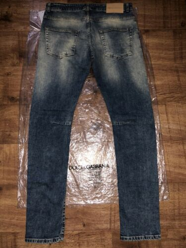 Fit W36 L32 Denim Jeans 65Balmain Blue 379 Rrp £ Slim It52 Stretch 4AqS35RjLc