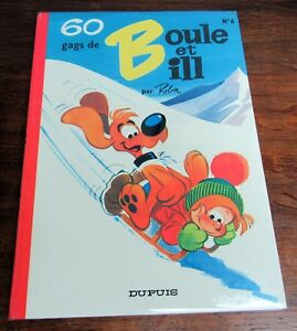 BOULE-ET-BILL-NO-6-ROBA-60-GAGS-EO-1970-TBE