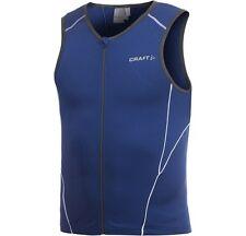 Craft Mens Active Tri Jersey 194127 S Blue Triathlon Cycling Running