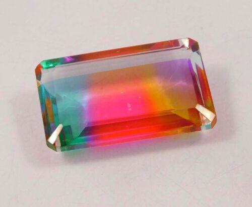 Piedra Preciosa Natural Facetado Multi Color Hydro NJT2240-2256 Envío Gratuito