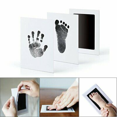 Baby Paw Print Pad Foot Photo Frame Touch Ink Pad Baby Items Souvenir Gift UK