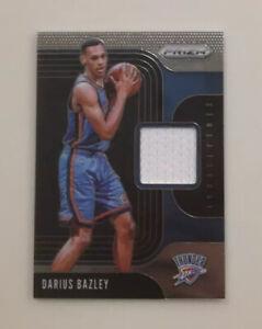 Darius-Bazley-2019-20-Panini-Prizm-Sensational-Swatches-RELIC-SS-DBZ-Thunder-RC