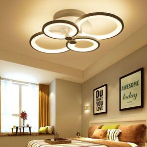 Modern led ceiling lights dining living room bedroom chandelier lamp image is loading modern led ceiling lights dining living room bedroom aloadofball Images