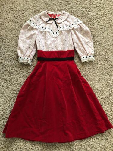 Vtg Dress Aldens The Sportswear Shop Girls Size 12