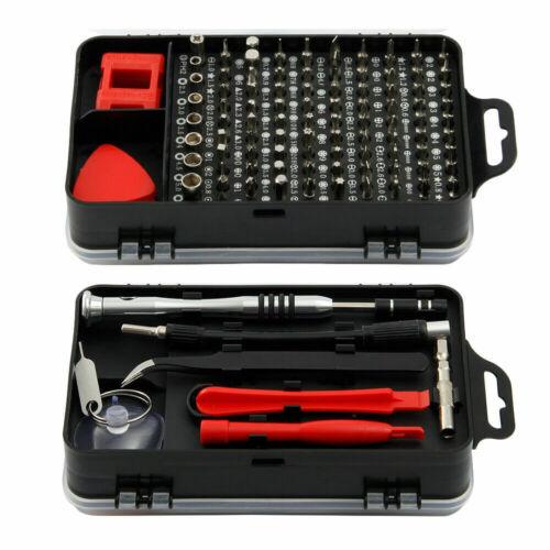 110 in 1 Precision Screwdriver Bit Set Magnetic Driver Torx Star Repair Tool Kit