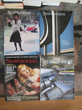 SMITHSONIAN MAGAZINE LOT 4 ISSUES October 1992 January 1994 August December 2003