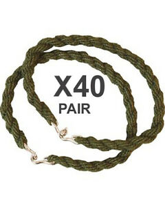 40-Pairs-Trouser-Twists-Bungee-Twist-Elastic-Leg-Ties-Army-Combat-Military-Boots