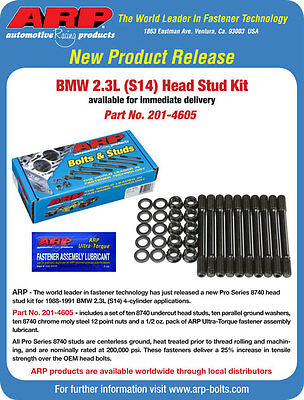 ARP & Cometic BMW 2 3L S14 HSK E30 M3 201-4605 MLS Head Gasket C4294-051  672036041533 | eBay