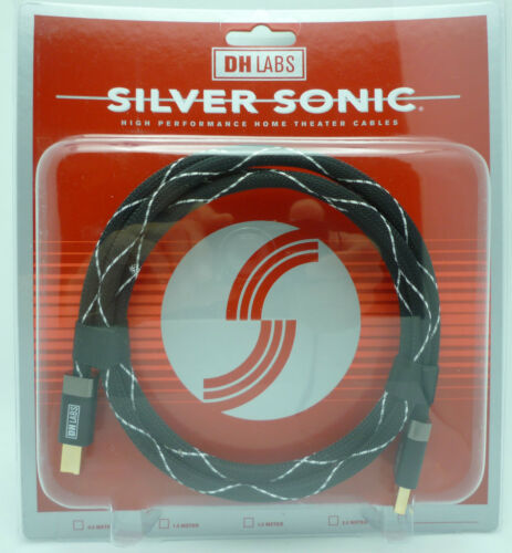 DH Labs Silver Sonic USB 3 meter   Standard USB Cable USB-A to USB-B