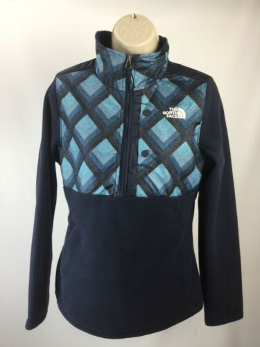 Pullover Urban Women Jacket Navy Størrelse North Face Midweight Fleece Tundra S The wqZFTXB
