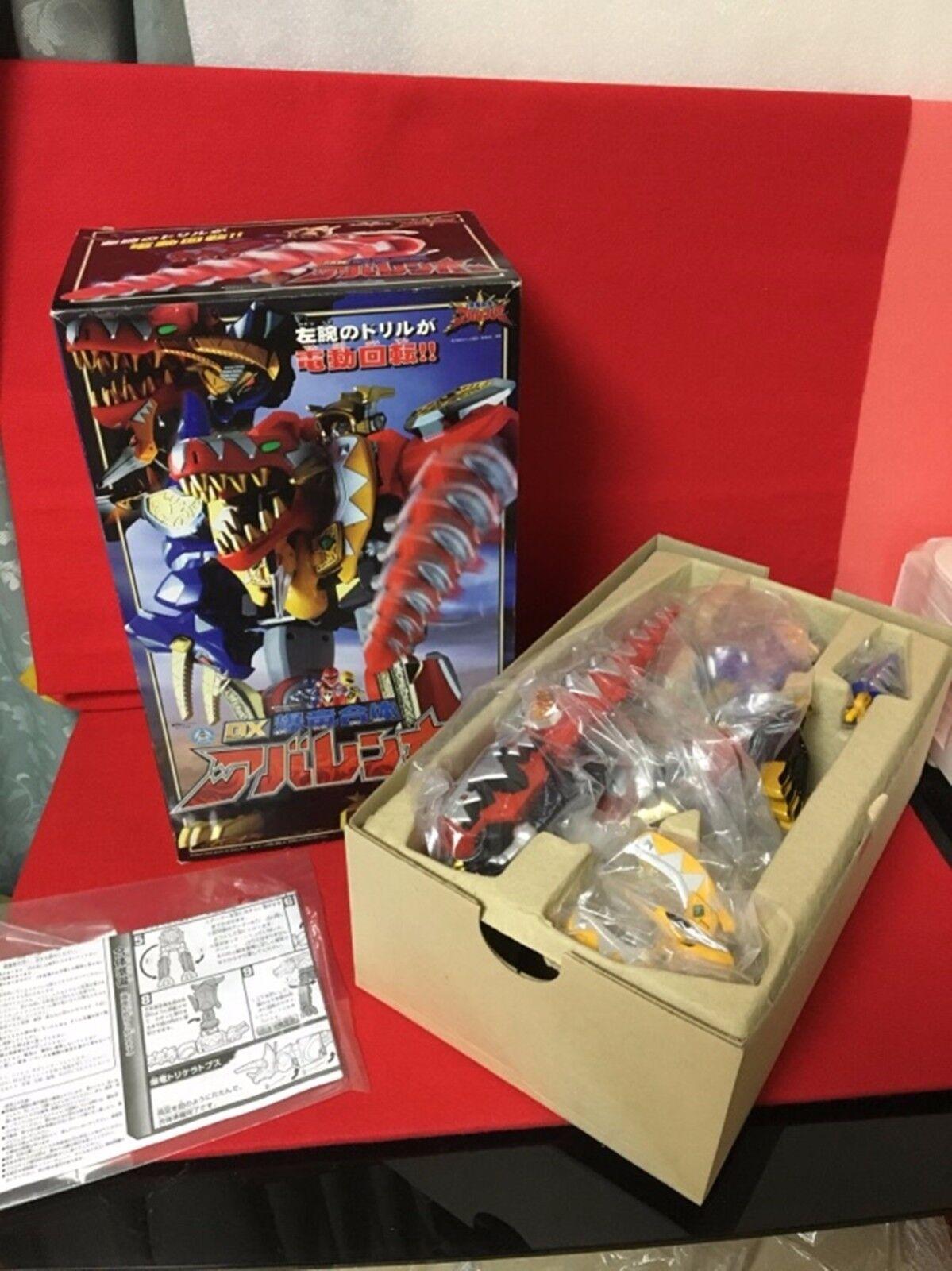 New BANDAI Power Rangers Dino Thunder Bakuryu Sentai Abaranger DX AbarenOh F/S